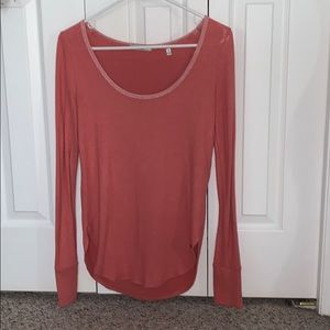 A&F scoop neck sweater.